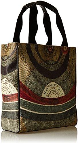 Gattinoni Gacpu0000081, Borsa a Spalla Donna, 13 x 35 x 30 cm (W x H x L) Multicolore (Classico)