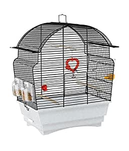 ferplast cage oiseau rosa animalerie. Black Bedroom Furniture Sets. Home Design Ideas