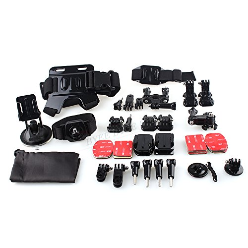 professionel-33-en-1-gopro-kit-daccessoires-chdhe-301-4gb-card-hw09-sports-de-plein-air-gopro-access