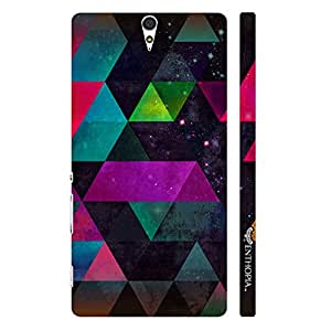 Sony Xperia C5 Space Fantasy designer mobile hard shell case by Enthopia