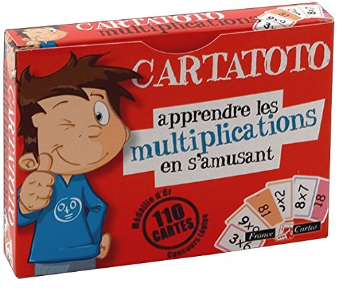 Jeu de 110 cartes : Cartatoto Multiplication