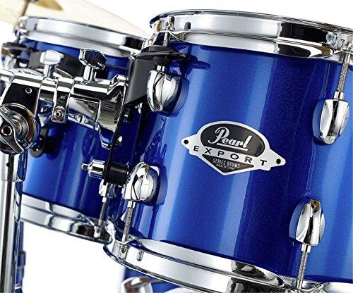 Pearl Export EXX725 FBR High Voltage Blue Batteria acustica completa blu