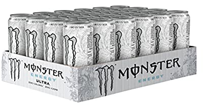 Monster Ultra White, 24er Pack, Einweg (24 x 500 ml)