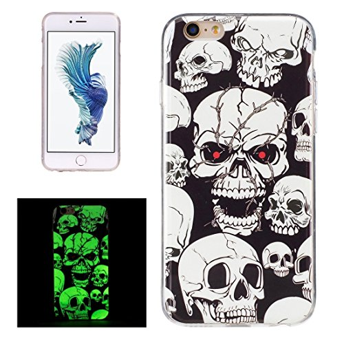 Phone case & Hülle Für iPhone 6 Plus / 6s Plus, Noctilucent Plum Muster IMD Workmanship Soft TPU Rückseiten Fall Fall ( SKU : Ip6p0938k ) Ip6p0938h