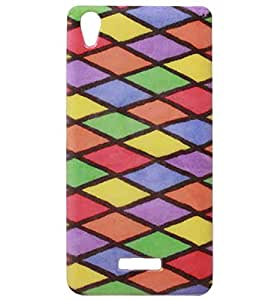 Exclusive Rubberised Back Case Cover For Lava Pixel V1