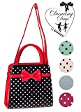 Banned Apparel Vintage 50s Rockabilly Carla Polka Dot Handbag