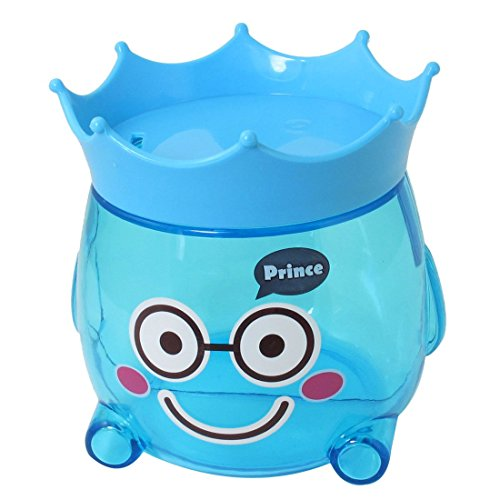 (Plastic Piggy Bank-Münzen-Geld Safe Süßigkeit Pot Geschenk Clear Blue)