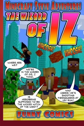 Minecraft Steve Adventures: The Wizard Of ()