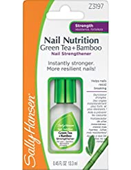 SALLY HANSEN Nail Nutrition Green Tea + Bamboo Strengthener - Clear
