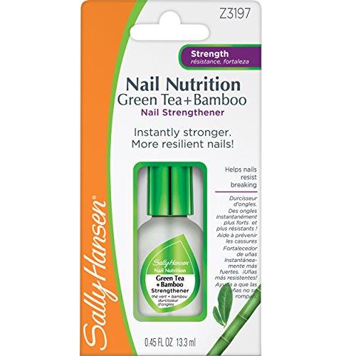 SALLY HANSEN Nail Nutrition Green Tea + Bamboo Strengthener Clear
