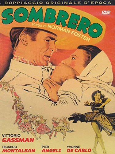 sombrero dvd Italian Import by ricardo montalban
