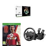 Xbox One S - Consola 1 TB + Sea Of Thieves + FIFA 18 + Volante TMX Force Feedback