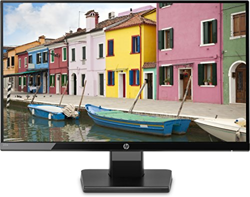 HP 22W Monitor per PC Desktop 22', 5ms, Full HD (1920 x 1080), IPS Retroilluminato a LED, Nero