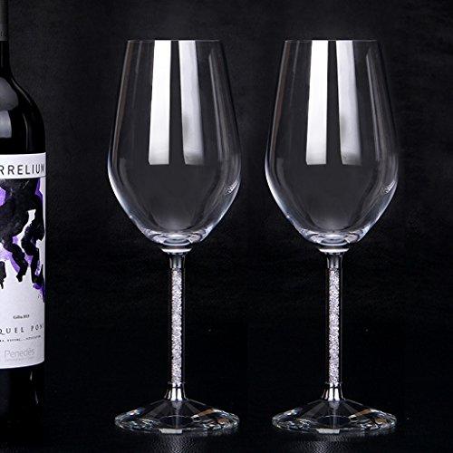 A-Rq Copa De Vino Tinto - Cristal De Vidrio Sin Plomo - Soplo - Regalos De Empresa - Hogar - 470ml-2