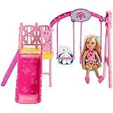 Barbie - BDG48 - Poupée - Balançoire De Chelsea