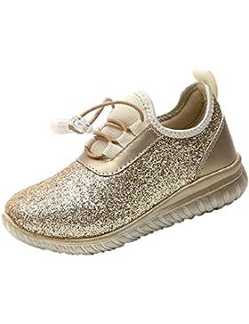 PAOLIAN Verano Zapatos Para Niños Para Niñas Antideslizante Rejilla Breathable Aire Libre y Deporte Casual Calzado...
