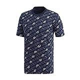 adidas Herren Monogram T-Shirt, Collegiate Navy, XL