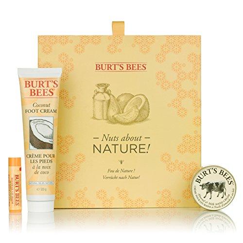 Burt's Bees Verrückt nach Natur, Geschenkset, 1er Pack (1 x 3 Stück)