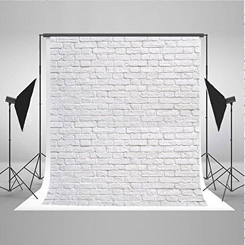 Goldbeing Fotohintergrund Fotografie Stoffhintergrund Stoff Hintergrund Mit Weiße Ziegelmauer Thema für Studio-Profi-Fotograf