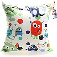 Bolsa de Pañales Animados Reutilizable de Bebes, Útil Bolsa de Mamá Seca Impermeable Lavable Mojado