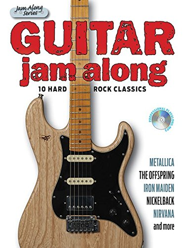 Guitar Jam Along - 10 Hard Rock Classics (Book & CD): Songbook, Bundle, CD für Gitarre