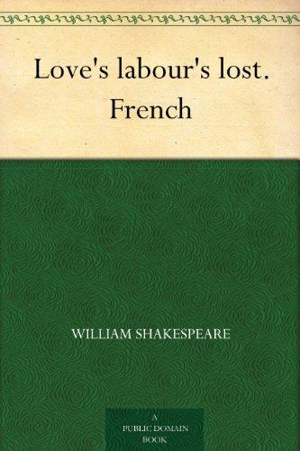Couverture du livre Love's labour's lost. French