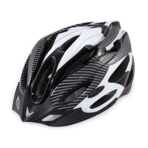 TZQ Kinder Fahrräder Helme Fahrräder Fiberglas Mountainbikes Fashion Wrestling Caps Batterie Auto Helme,White-OneSize