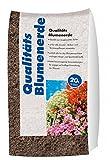 Hamann Qualitäts-Blumenerde 20 l zur dekorativen Gartengestaltung - optimale Nährstoffversorgung