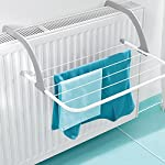 Bluelover Multifunktions faltbare Outdoorbekleidung Trockenständer Rack Bad Fensterbank Sunderies