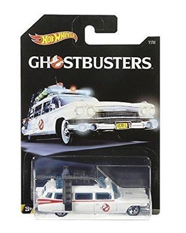 Mattel Hot Wheels DWF01 - Ghostbusters - Ecto-1 7/8 - - Wheels-ecto 1 Hot
