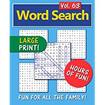 Word Search: Fun for all the family! - Volume 63