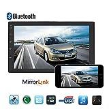 Auto Radio, podofo Auto Stereo Android 8.0Bluetooth in Dash Radio 17,8cm Single Ding Touchscreen Auto DVD Player CD/SD/MP5Unterstützung Handy Spiegel Link Auto Backup Monitor