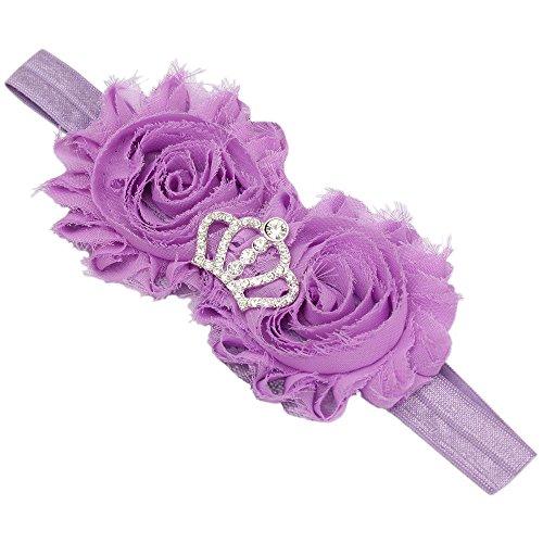 Crown Flower Stirnband Haarband Kleinkind Headwrap (Flower Child Stirnbänder)