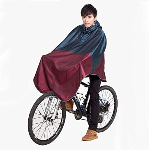 Para Bicicleta Chubasquero Poncho Lluvia Capucha Resistente