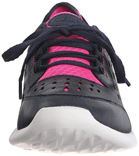 Clarks Seremene Chaussure de marche navy leather