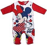 Minnie Mouse Kollektion 2018 Strampelanzug 62 68 74 80 86 92 Strampler Einteiler Maus Disney Rot (Rot, 86-92)