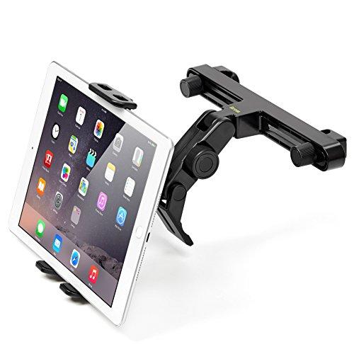 Kopfstütze Halterung, iKross Universal Kfz Auto Tablet-Halterung an der Kopfstütze für 7-12 Zoll Tablet - Schwarz