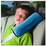 Toyonee - Almohada para cinturón de Seguridad para niños, para el Coche, para el Cuello, el Elevador, protección de Hombro, Almohadilla Suave para reposacabezas del Coche