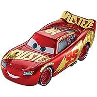 Disney Pixar Cars petite voiture Flash McQueen, rouge avec décoration dorée Rust-Eze, jouet pour enfant, DXV45