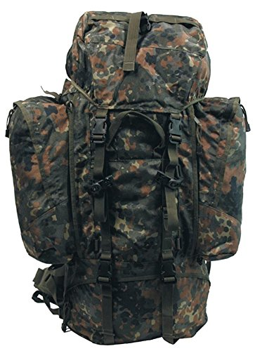 Bundeswehr PROFI Rucksack ALPIN 110 Liter flecktarn flecktarn/BW camo