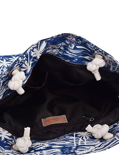 Douguyan tela di canapa variopinto di modo di svago del sacchetto di spalla della spiaggia all'ingrosso signore tote shoulder bag borse donna Ragazze canvas beach shopping women handbag 252F Colore F