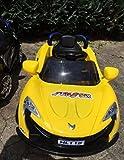 Toyas Sportwagen Kinder Elektro Auto Kinderfahrzeug 25W Motor Gelb Neu