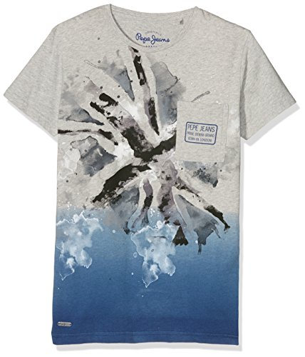pepe-jeans-jayson-t-shirt-garcon-gris-lt-grey-marl-fr-16-ans-taille-fabricant-m