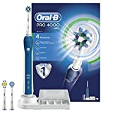 Oral-B Pro 4000 CrossAction Electric Rechargeable Toothbrush Powered by Braun (Personal Care)