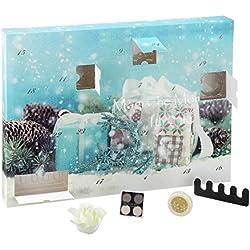 Calendario de Adviento mágica Momentos para usted, 24cosmético Beauty Sorpresas para mujer   Wellness Bath & Body