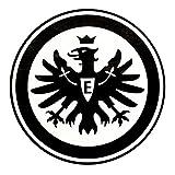 Unbekannt Eintracht Frankfurt Aufkleber, Sticker, Autoaufkleber Logo Innen Schwarz - Plus Gratis Lesezeichen I Love Frankfurt