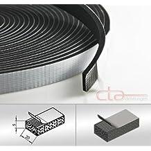 VKP5x5 mm EPDM Moosgummiprofil Vierkantprofil Rechteckprofil Dichtband Dichtung