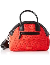 1629c9e854e Amazon.es  Bolso bowling rojo - Bolsos de mano   Bolsos para mujer ...