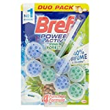 [Pack 10] Bref Hänger WC Power Active Natura Blister 2 UDS