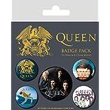 Queen Set di Spille, Combinazione, Multi-Colour, 10 x 12.5cm